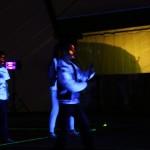 Sportowe urodziny - przy oświetleniu ultrafioletowym
